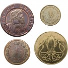 House Greyjoy Set of Four Coins thumbnail